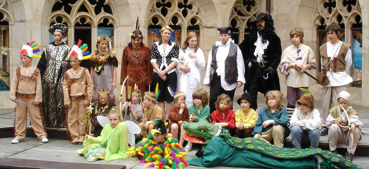 Kindertheater Peter Pan